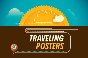 Traveling posters