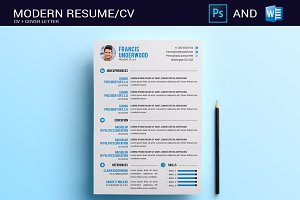 Resume/CV Photoshop & Word