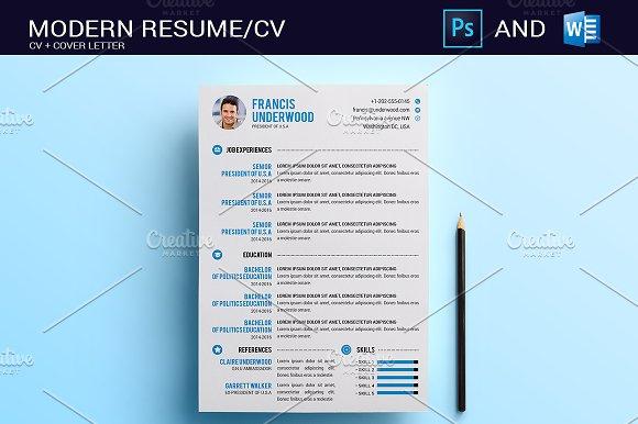 Resume/CV Photoshop & Word