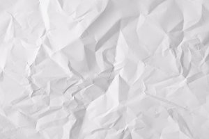 Texture sheet of crumpled paper