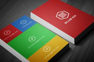Creative Business Card 2 in 1