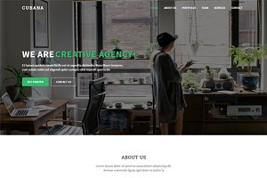 Cubana - Wordpress Template