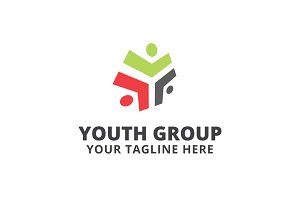 Youth Group Logo Template