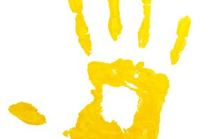 Prints Hand Yellow