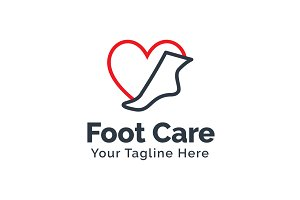 Foot Care Logo Template