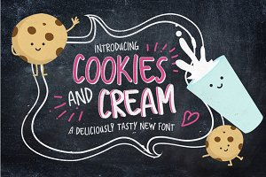 Cookies And Cream Typeface