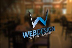 Web Design / W Letter Logo
