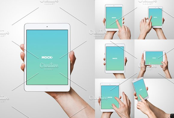 Download iPad Mini Studio Mockups