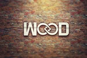 Wood Corporate Logo Design