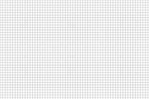 Five millimeters gray grid a4 size