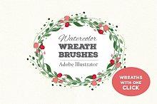 NEW! Wreath Brushes for Illustrator