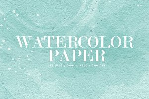 12 Watercolor Papers