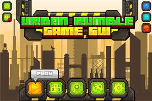 Urban Rumble - Game GUI