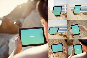 Photorealistic iPad Mockup