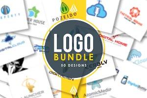 Logo Bundle (50 designs)