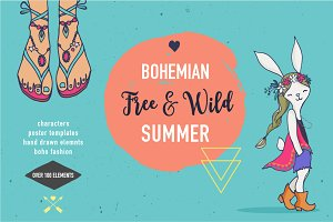 Bohemian summer, huge bundle