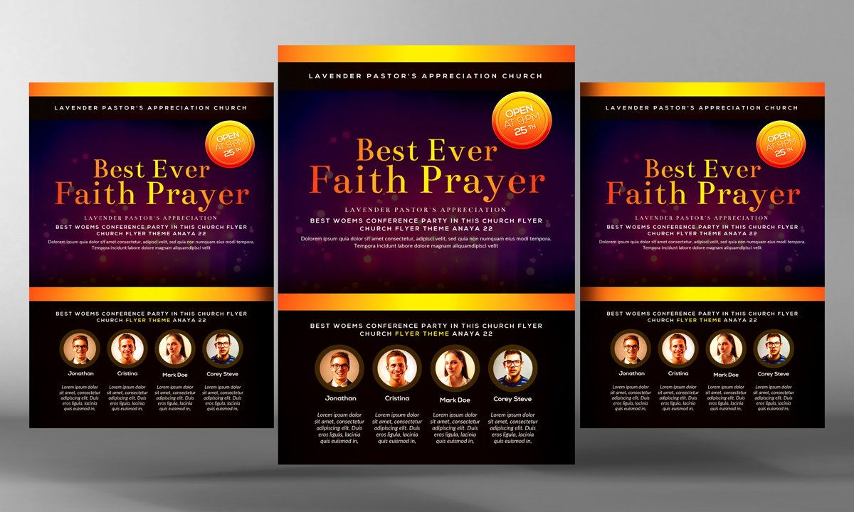 universal liberation church flyer flyer templates on creative market