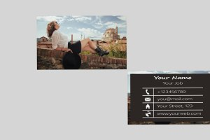 Photoxstrp Business Card Template