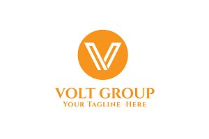 Volt Group Logo Template