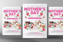 Happy Mother's Day Flyer Psd