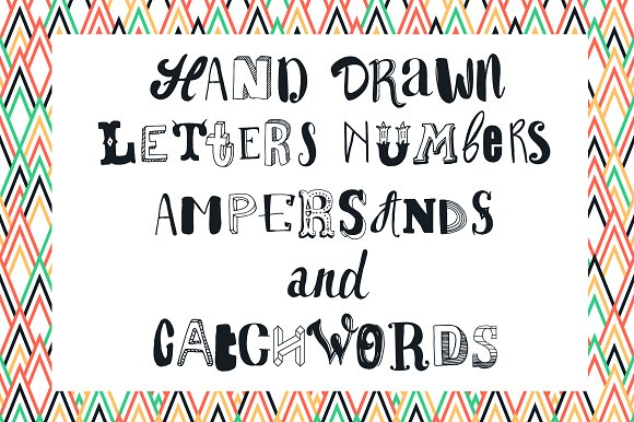More than 500+ Hand drawn Letters