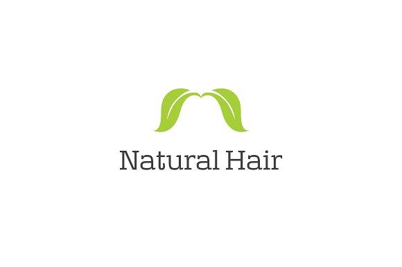 Natural Hair Logo Template