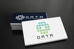 Data Internet And Network Logo