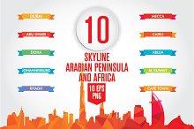 Arabian Peninsula and Africa