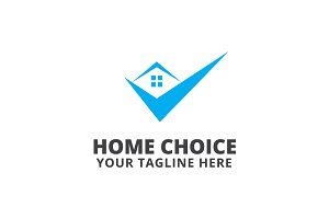 Home Choice Logo Template