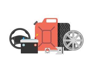 Repair car service