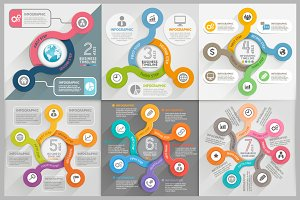 Infographics Template Set.