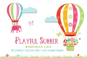 Playful Summer – Colorful Bohemian
