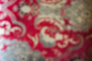 Red Damask Bokeh 1