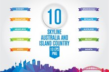 Australia and the Island country