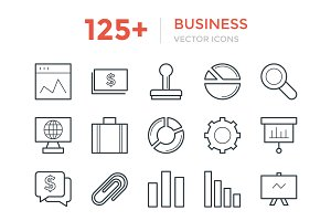 125+ Business Vector Icons