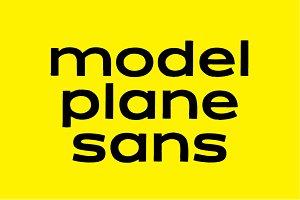 MODEL PLANE SANS