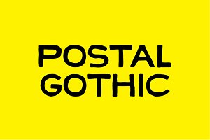 POSTAL GOTHIC