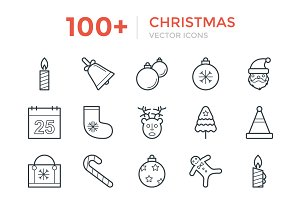 100+ Christmas Vector Icons