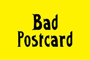 Bad Postcard