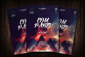 RNB Party Flyer Template