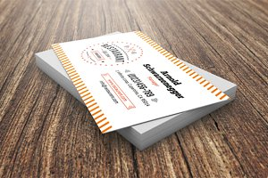 Restaurant Business Card Template