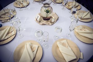 Bamboo Table Settings 1
