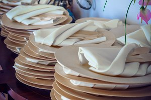 Bamboo Dinnerware Prep