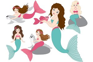 Mermaids Set