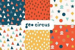 Geo Circus Patterns