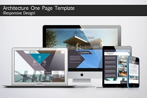 Architecture One Page Template