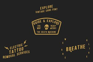 Explore ~ A Hand Drawn Font