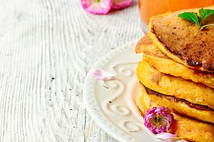 pancakes with pumpkin