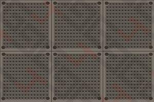 Metal floor 001