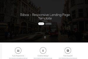 Bilbox - Landing Page Template